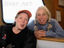 Debbie Karimoto and Elaine Jobin